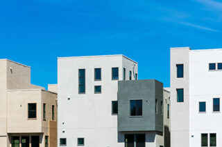 photo - Multifamily Low-Rise Residential Row Buildings