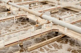 Photo of Municipal Wastewater Treatment Plant