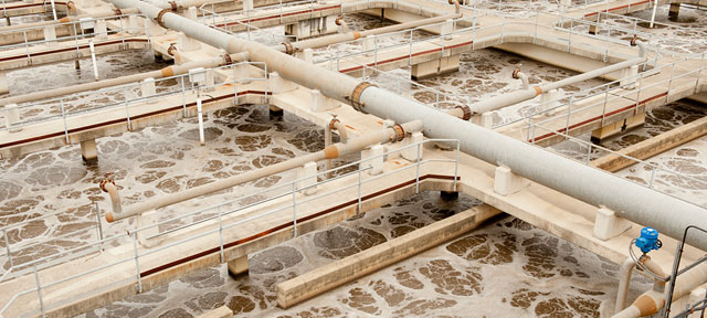 Photo of Municipal Wastewater Treatment Plant