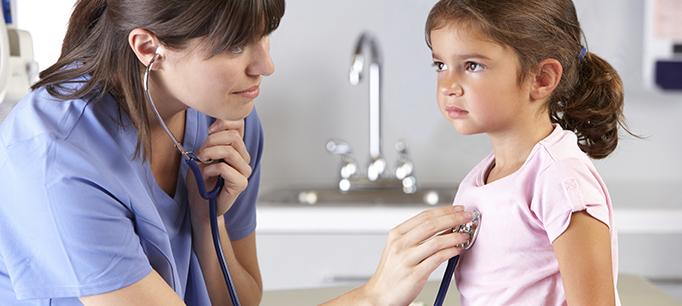 Nurse Little Girl Patient