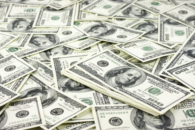 photo - pile of money