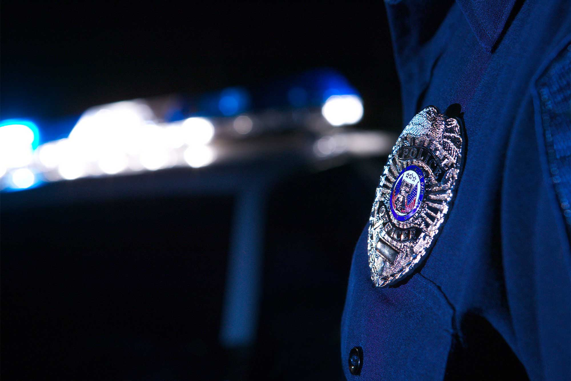 photo - Police Officer's Badge