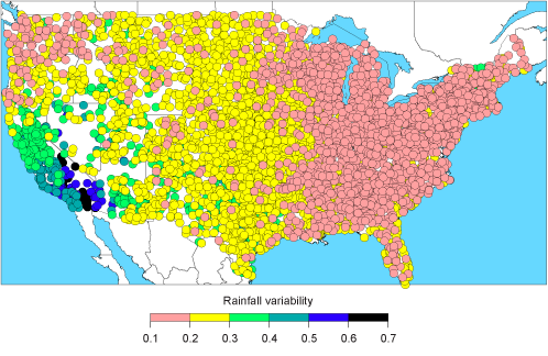36dea1d5f Figure 1. California s Precipitation is Highly Variable Compared to the  Rest of the Nation