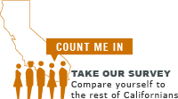 Count Me In - Take our survey and compare yourself to the rest of Californians