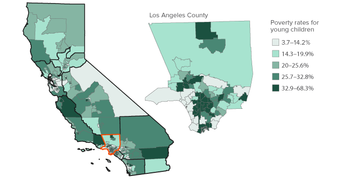 Geography of Child Poverty in California Public Policy Institute