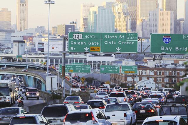 photo - San Francisco Traffic Jam