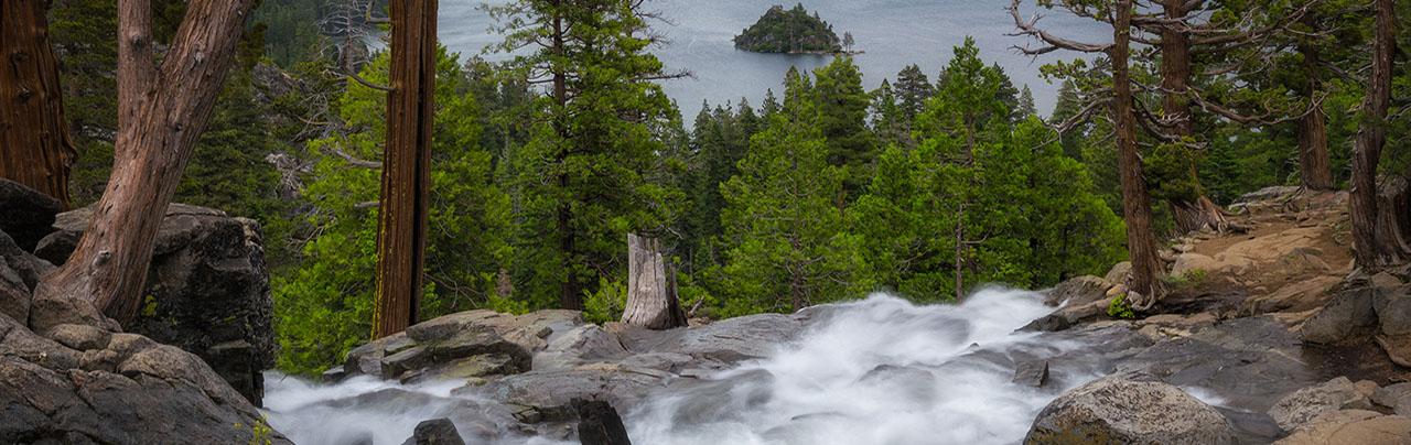 photo - Eagle Falls Overlooking Emerald Bay, Lake Tahoe, California
