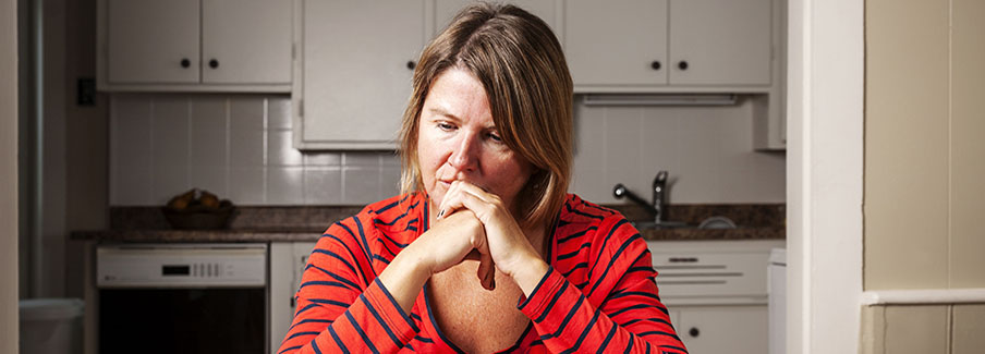 photo - Woman Worried About Bills