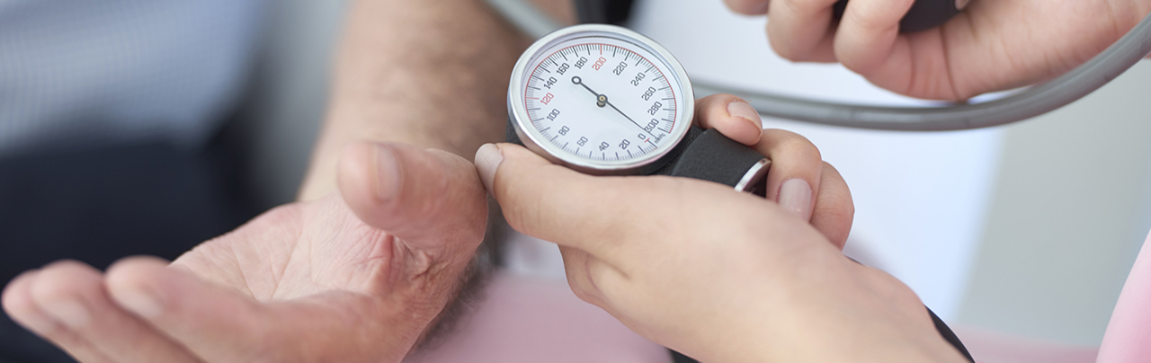 photo - blood pressure check