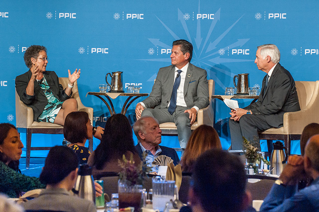 Photo of PPIC speaker series event