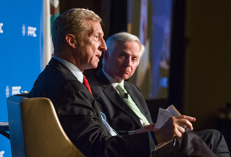 Tom Steyer And Mark Baldassare