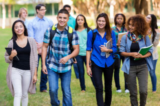 photo - Students Group On Campus