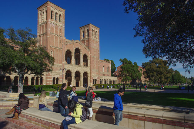 image - Students Walking About UCLA Campus