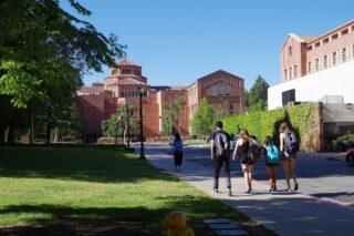 photo - Students Walking on UCLA Campus