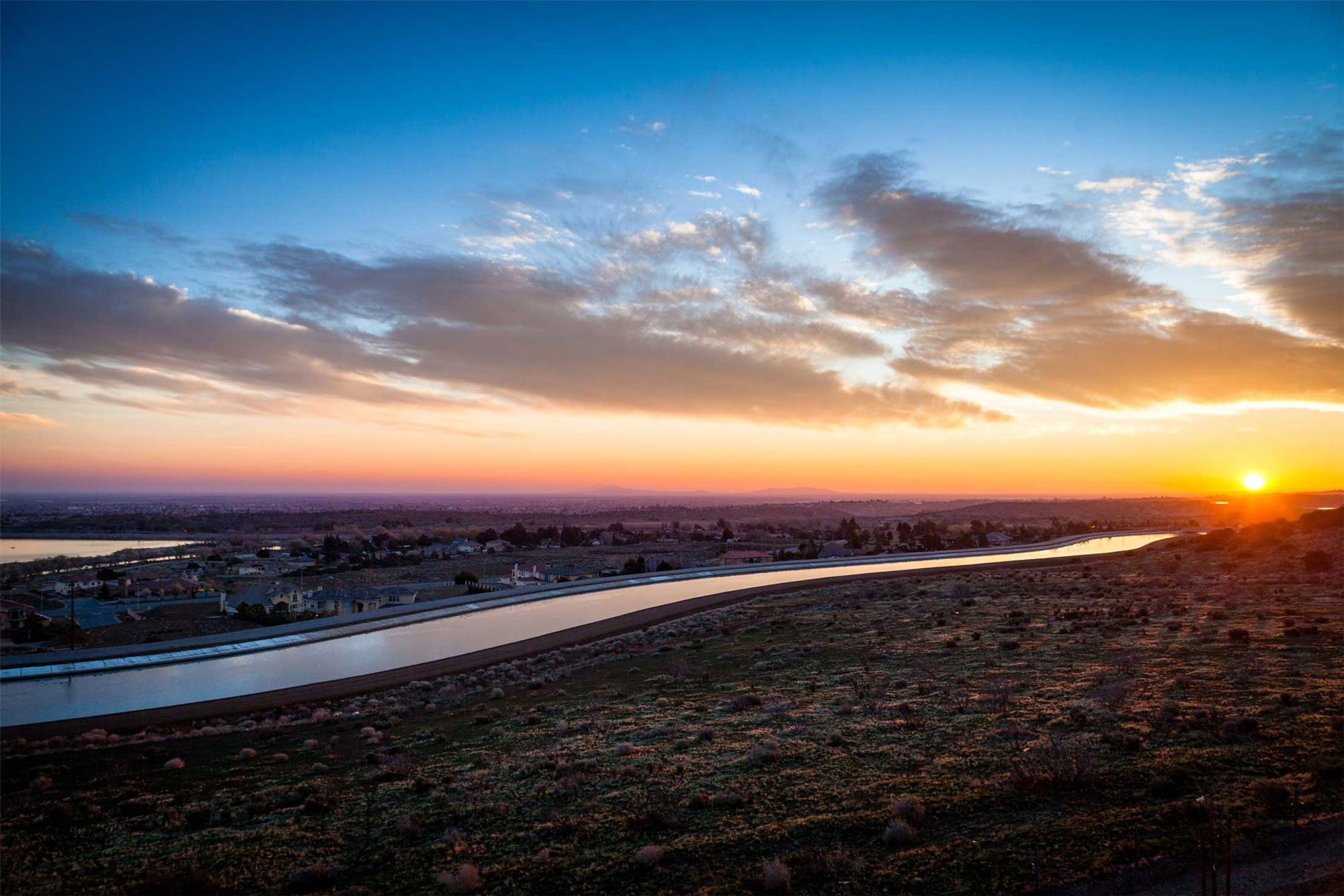 image - Sunrise over California