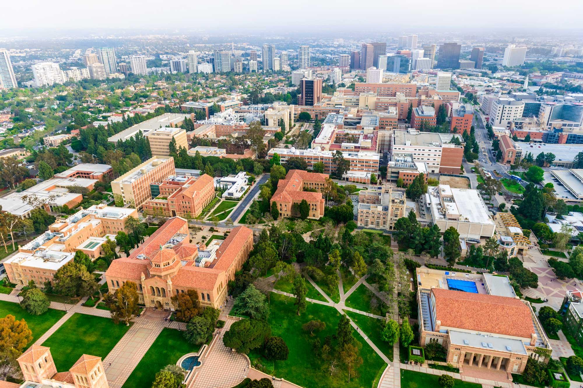 photo - University of California Los Angeles Campus, Aerial View