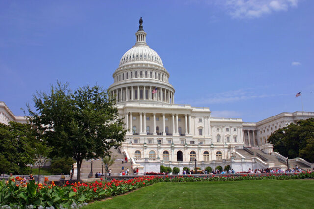 photo - US Capitol during Summer Time