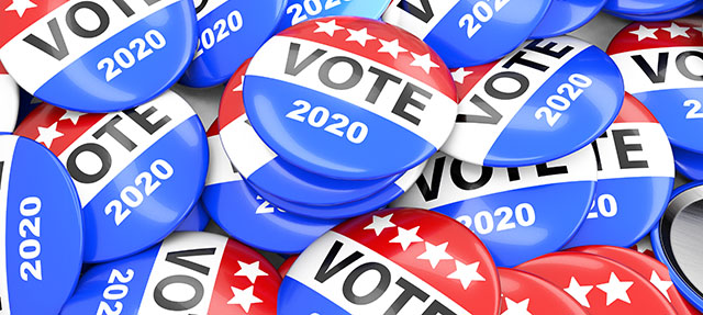 photo - Vote 2020 Buttons