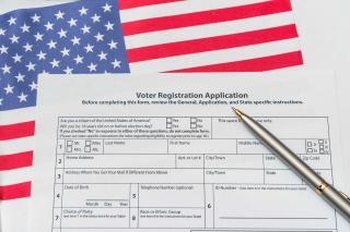 photo - Voter Registration Form