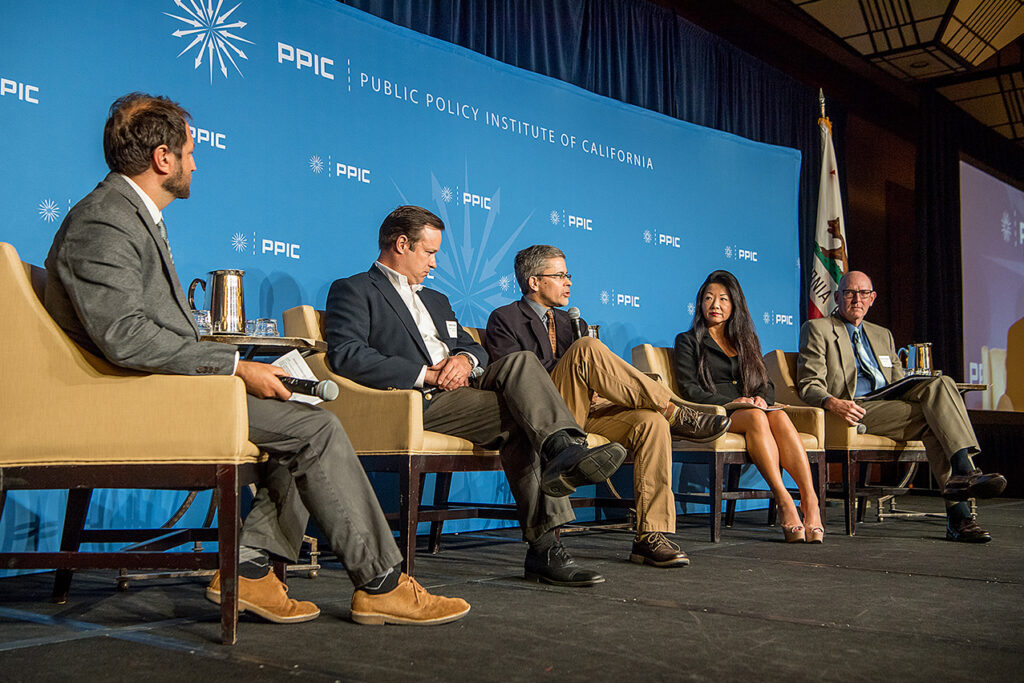 Photo of Panel 1: Protecting Californians from Floods, Fires, and Drought