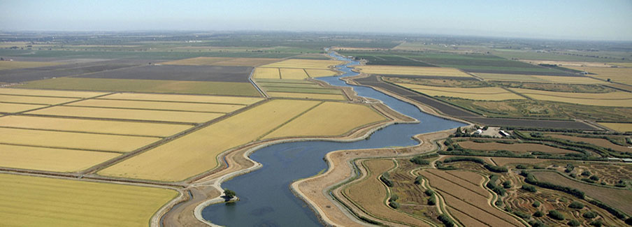 photo - Aerial views of the Delta in California