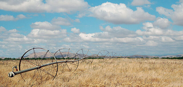 photo - Irrigation Equipment in a Field