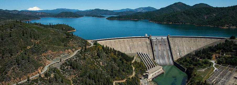 photo - Lake Shasta Pixel CA DWR