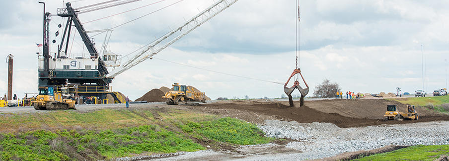 photo - Levee Construction