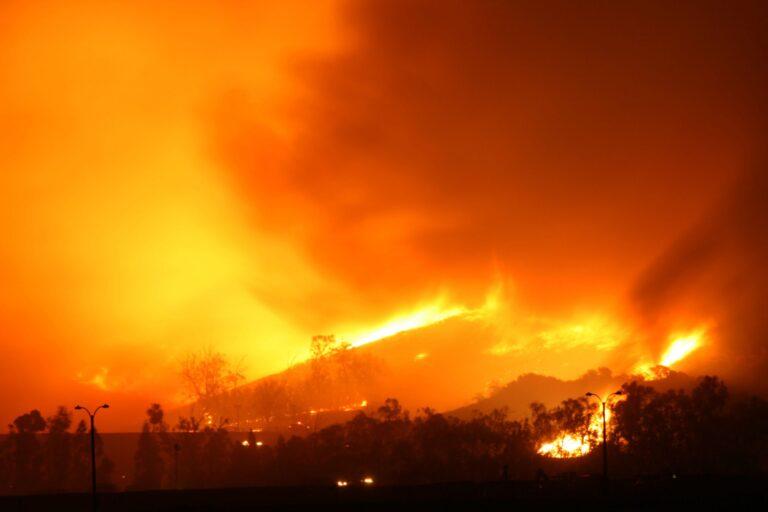 photo - Wildfire in California