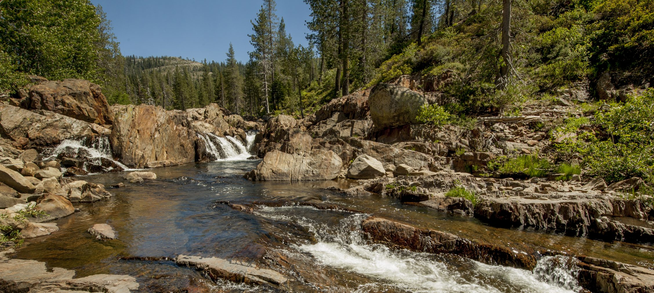 South Fork of the Yuba River, California.
